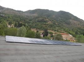 Impianto fotovoltaico 8,25 kWp Vallio Terme (BS)