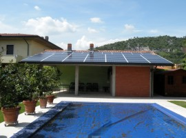 Impianto fotovoltaico 9,75 kWp Paitone (BS)