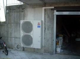 Mitsubishi Electric Unità esterna Pompa di calore aria-acqua - Sabbio Chiese (BS)