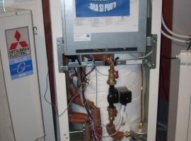 Mitusbishi Electric scaldare acqua a costo zero