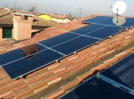 Impiato fotovoltaico-5,88-kWp-Curtatone-MN-vetro-vetro-bifacciale-ultima-generazione
