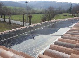 Impianto fotovoltaico 3,36 kWp Gavardo (BS) vetro-vetro ultima generazione
