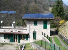 Impianto fotovoltaico 5,80 kWp Degagna di Vobarno (BS) vetro-vetro ultima generazione