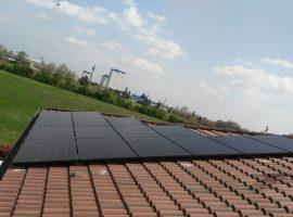 Impianto fotovoltaico 7,25 kWp Mazzano (BS) vetro-vetro ultima generazione