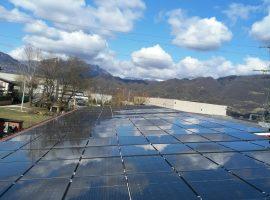 Impianto fotovoltaico 74,82 kWp Odolo (BS) tecnologia vetro-vetro ultima generazione