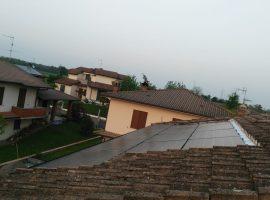 Impianto fotovoltaico 3,77 kWp Paderno Ponchielli (CR) vetro-vetro ultima generazione