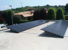 Impianto fotovoltaico 5,8 kWp Calcinato (BS) vetro-vetro ultima generazione