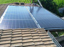 Impianto fotovoltaico 2,90 kWp Leno (BS) vetro-vetro ultima generazione