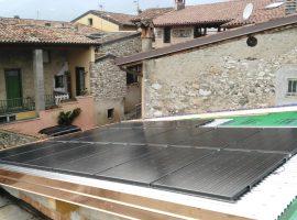 Impianto fotovoltaico 4,06 kWp Roè Volciano (BS) vetro-vetro ultima generazione