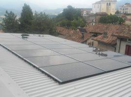 Impianto fotovoltaico 5,88 kWp Agnosine (BS) vetro-vetro ultima generazione
