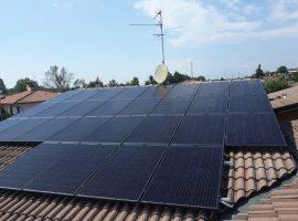 Impianto fotovoltaico 11,07 kWp Rudiano (BS) vetro-vetro ultima generazione