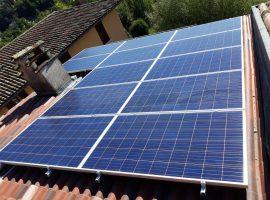 Impianto fotovoltaico 4,86 kWp Villanuova sul Clisi (BS)