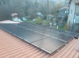 Impianto fotovoltaico 5,80 kWp Caino (BS) vetro-vetro ultima generazione
