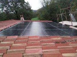Impianto fotovoltaico 5,80 kWp Calvagese della Riviera (BS) vetro-vetro ultima generazione